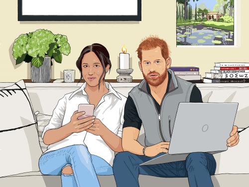 梅根和哈里在 Montecito 的新超级名人生活方式