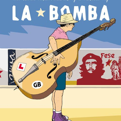 LA BOMBA: Cuban Man with Big Guitar