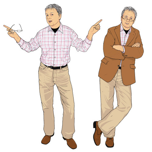 Mature Mens Fashion illustration
