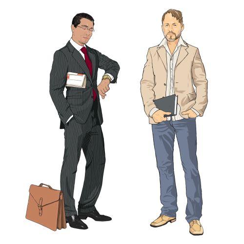 Men fashion illustration byJonathan Allardyce