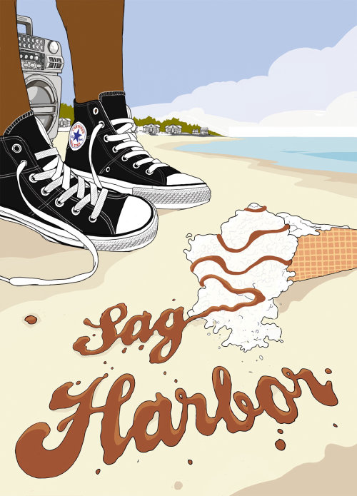 Cover artwork for Colson Whitehead's coming of age novel Sag Harbor