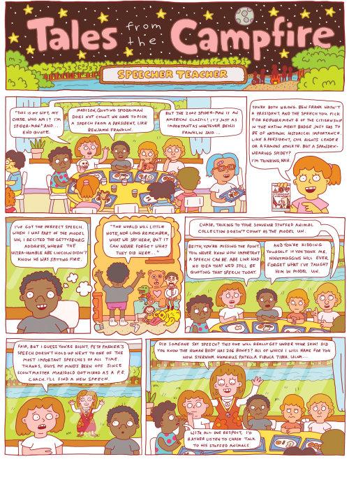 Ilustración de cómic de Joren Cull