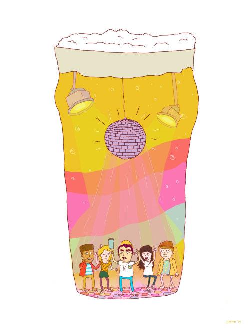 Illustration de nourriture et de boisson de paquet de pop-corn