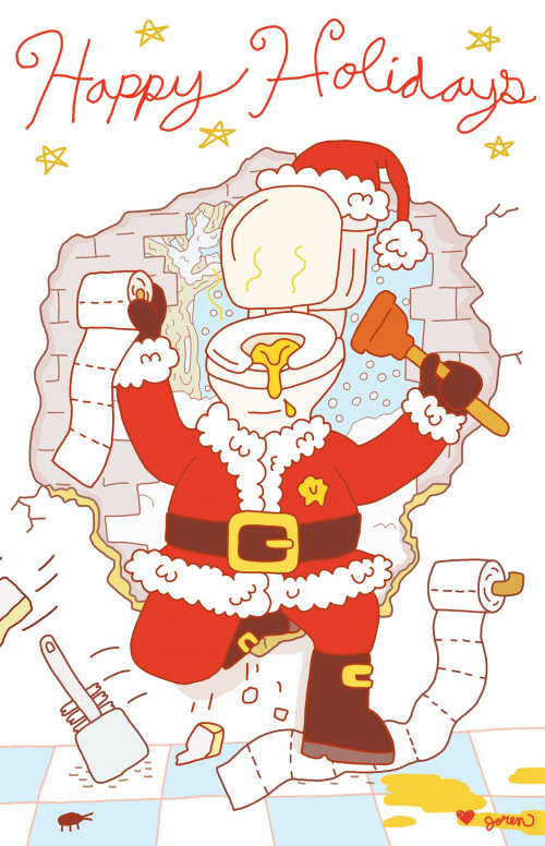 Diseño de tarjeta de Navidad por Joren Cull
