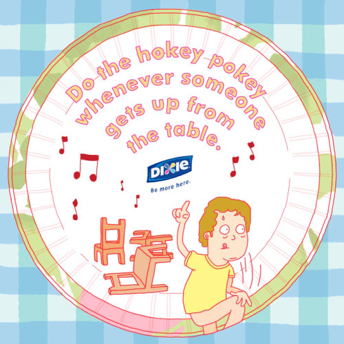 Animation publicitaire Gif pour Dixie Shop