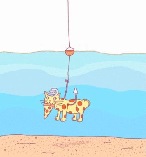 Animación gatito gif de Joren Cull