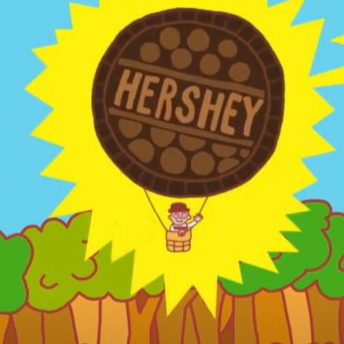 6 Advertisements for Hershey's 2d animation