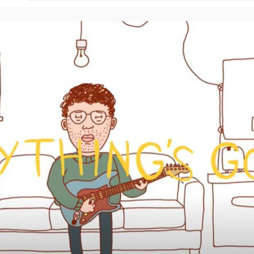 Phil Good - Everything's Good music video 2d animation