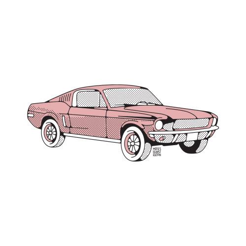 Linha e cor do carro rosa