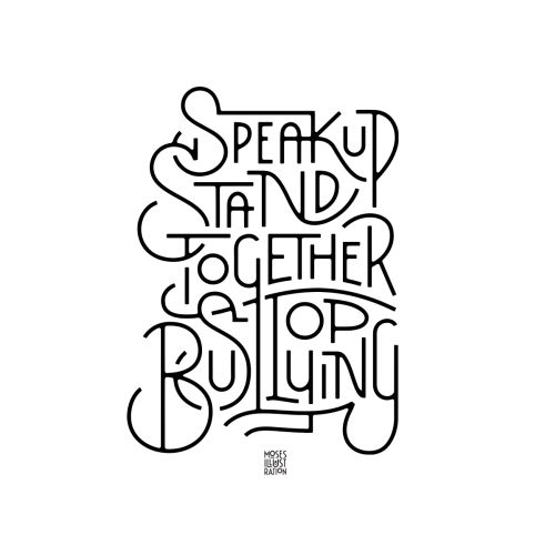 Speak up stand together stop bullying