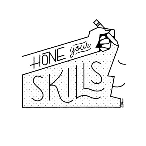 Lettering art of hone your skills