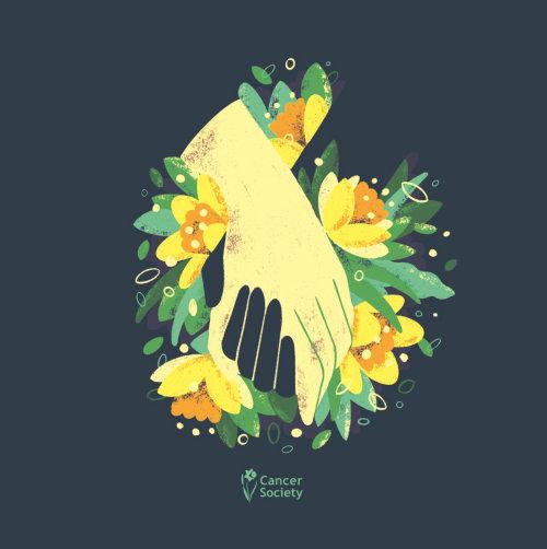 Ilustração gráfica de flores