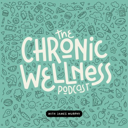 The chronic wellness products lettering art