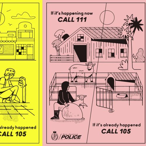 Cartoon & Humour Police flyer