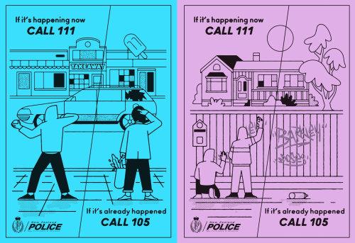 Folheto de desenho animado e humor, chamada 105