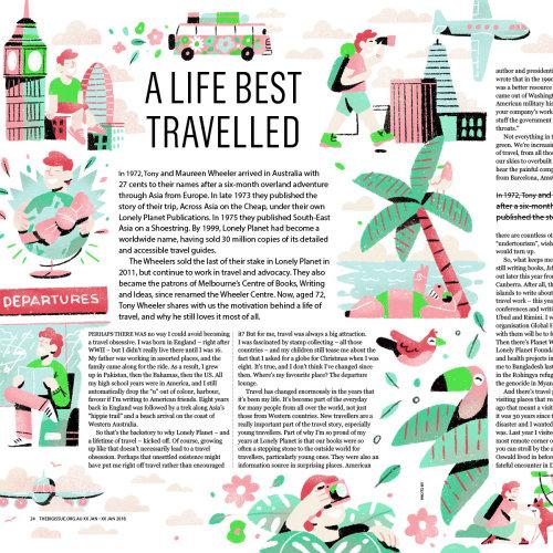 Letras Uma vida que é melhor viajada