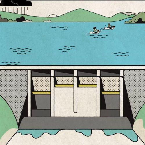 animation video seq water