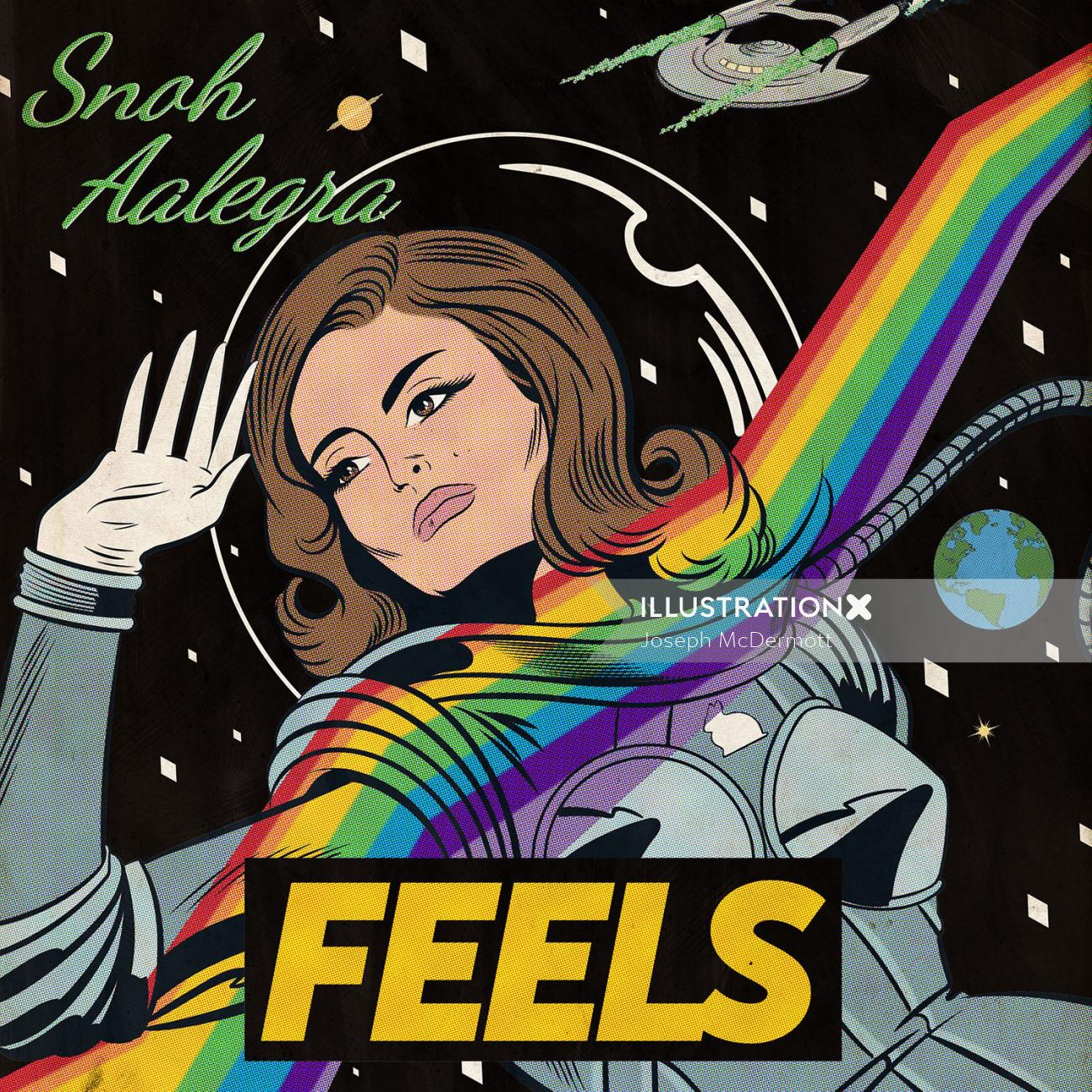 snoh aalegra - feels album cover