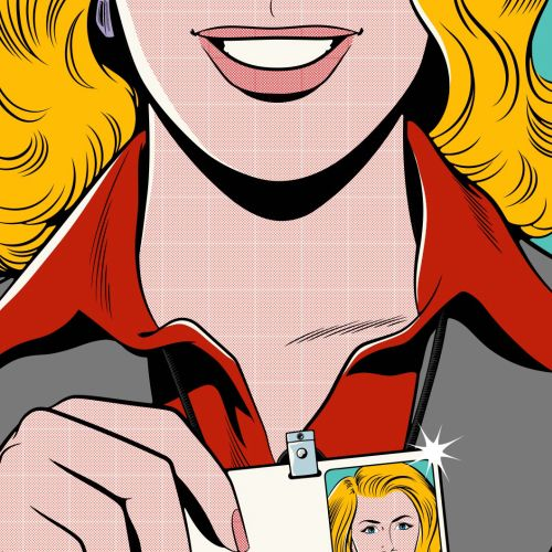 Joseph McDermott International Lichtenstein inspired illustrator. USA