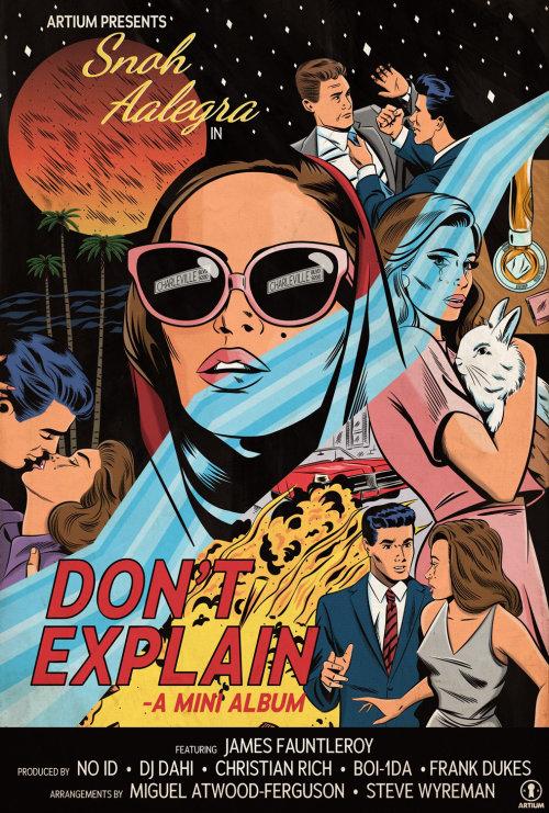 Don't explain mini album cover art