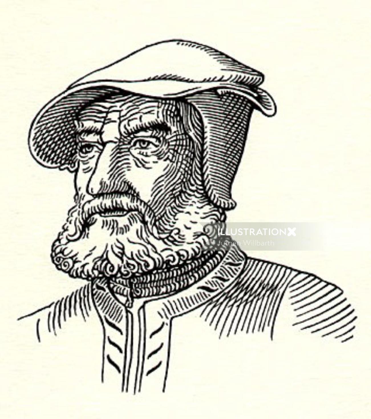 Jürgen Willbarth illustrator - painting illustration