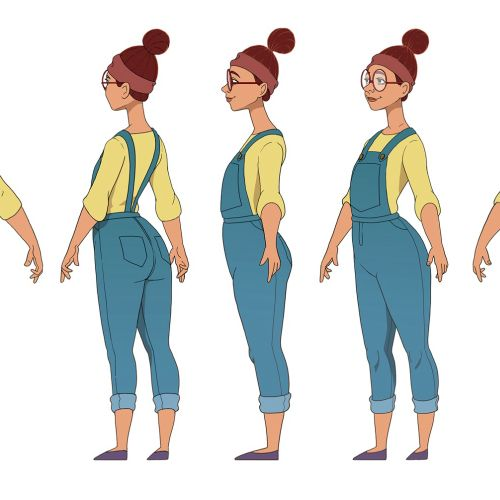 Diane Character Design For The Dumb Elephant