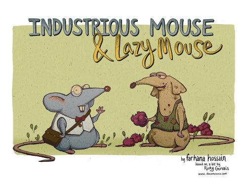 老鼠数字绘画