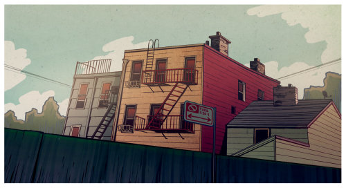 铅笔制作的公寓艺术