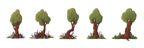 树的数字艺术
