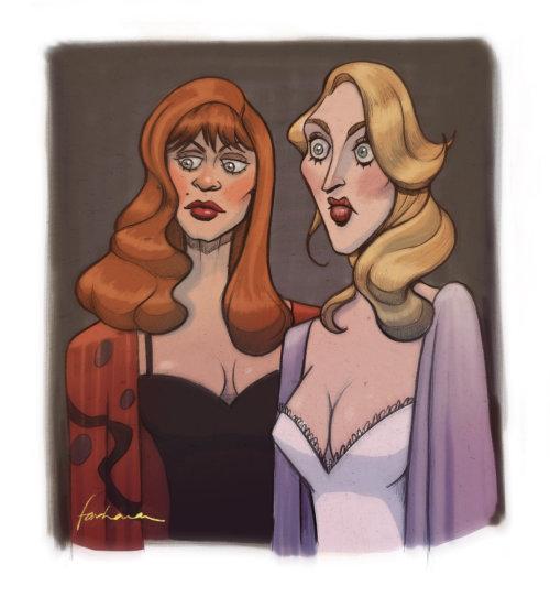 死亡中的戈迪·哈恩和梅丽尔·斯特里普的绘画成为她的