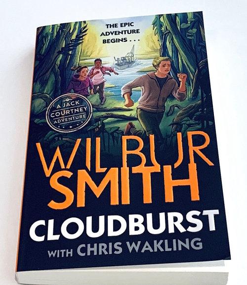 Cloudburst 书籍封面设计