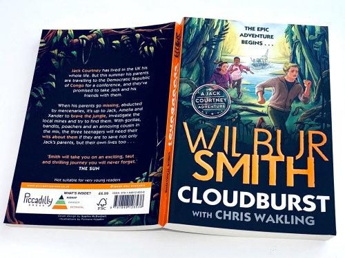 Cloudburst: A Jack Courtney Adventure 的书籍封面插图