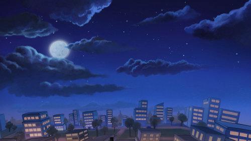 唐顿庄园夜景