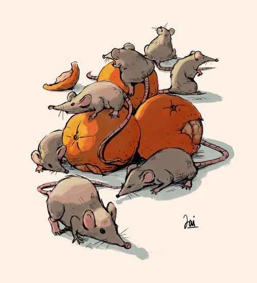 动物鼠图形设计