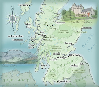 Ben Nevis, Cainrgorms, national Park, compass, Isle of Skye, Edinburgh, North Sea