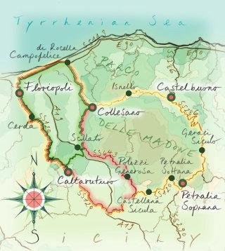 italy, Parco delle Madone, Collegano, Caltavuturo, hand drawn, hand writing
