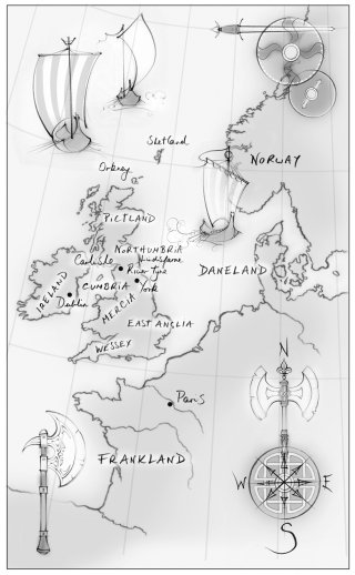 map, England, United Kingdom, viking, traditional, pencil, hand drawn