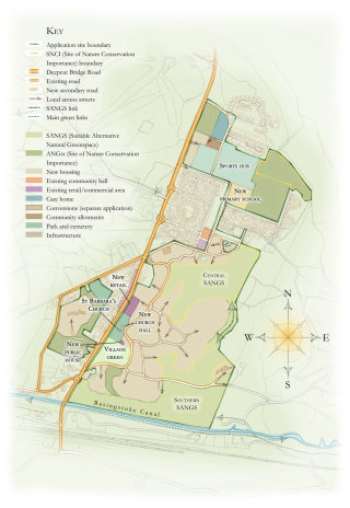 planning application, residential development, masterplan, compass, residential,