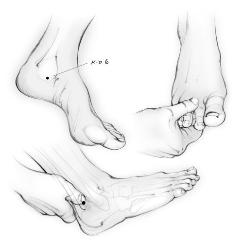 acupressure, feet, toes, hands