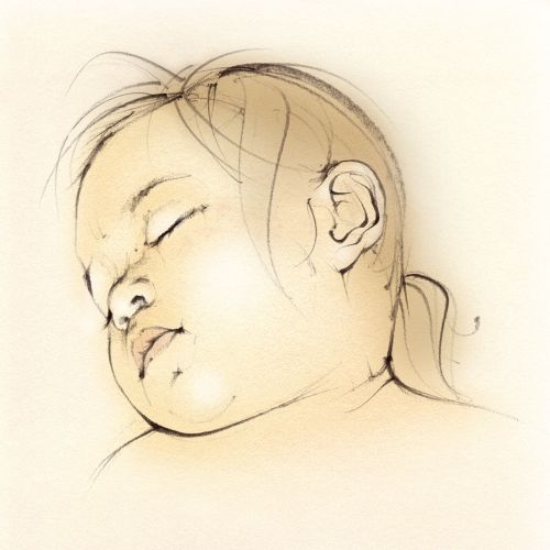 baby girl, toddler, sleeping