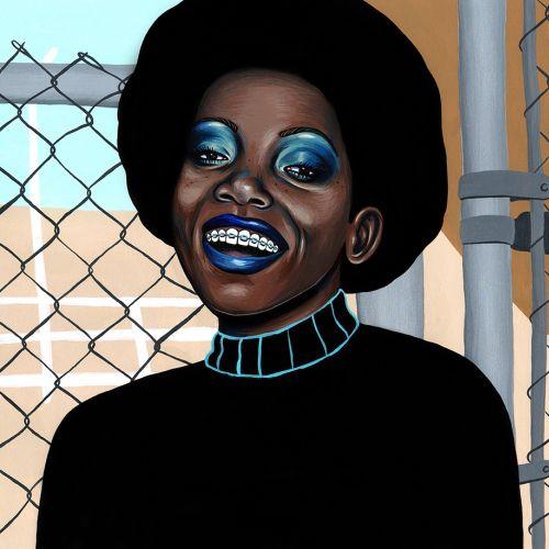Portrait of Black American women
