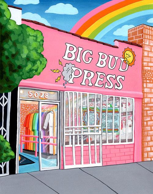 Pintura da loja Big Press Press