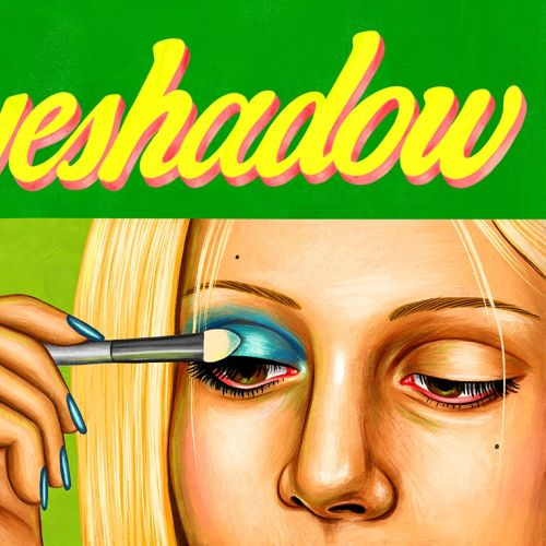 Fashion illustration of Eye shadow