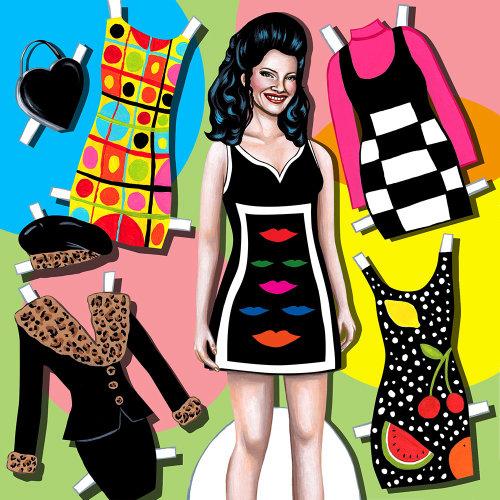 Ilustração de moda por Juliette Toma