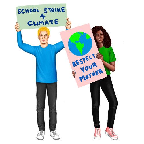 Junior Scholastic political poster