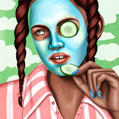 Juliette Toma Beauté Illustrator from USA