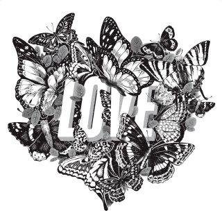 "Lettering illustration of ""Love"""