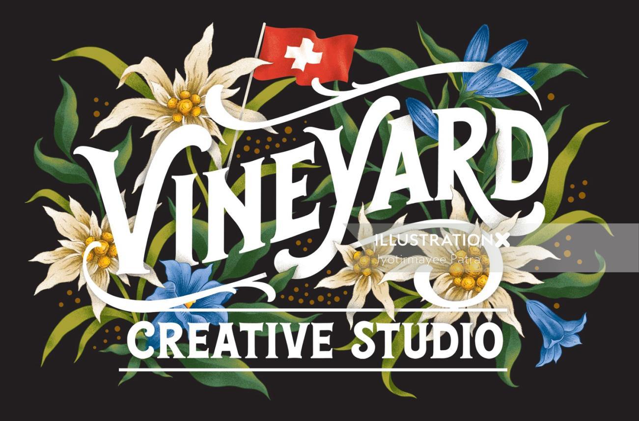 Logo design for Vineyard Creative Studio