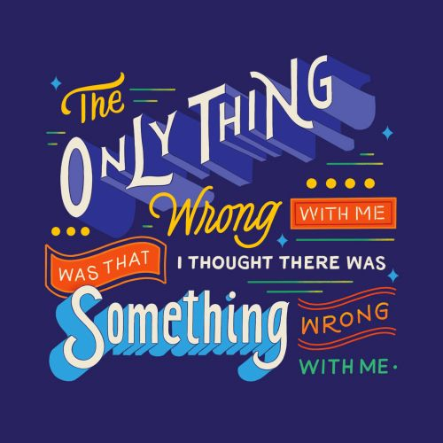 Lettering the only thing wrong