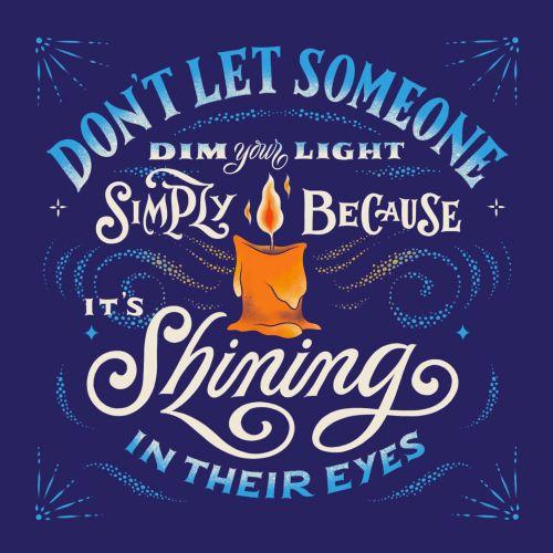 Lettering Shining